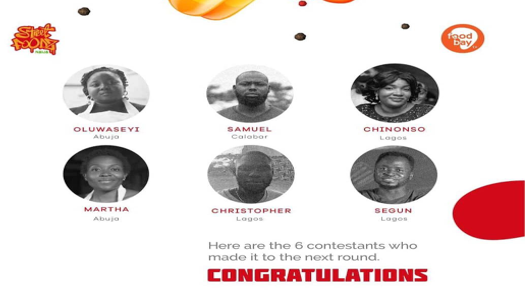 #StreetFoodzNaijaKings: Six Finalists set to battle for the Crown at the Street Food Fest?Teni and Zlatan billed to perform!