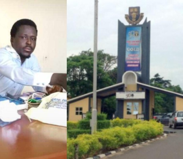 OAU lecturer suspended and handed over to police for allegedly sexually molesting a 19-year-old student