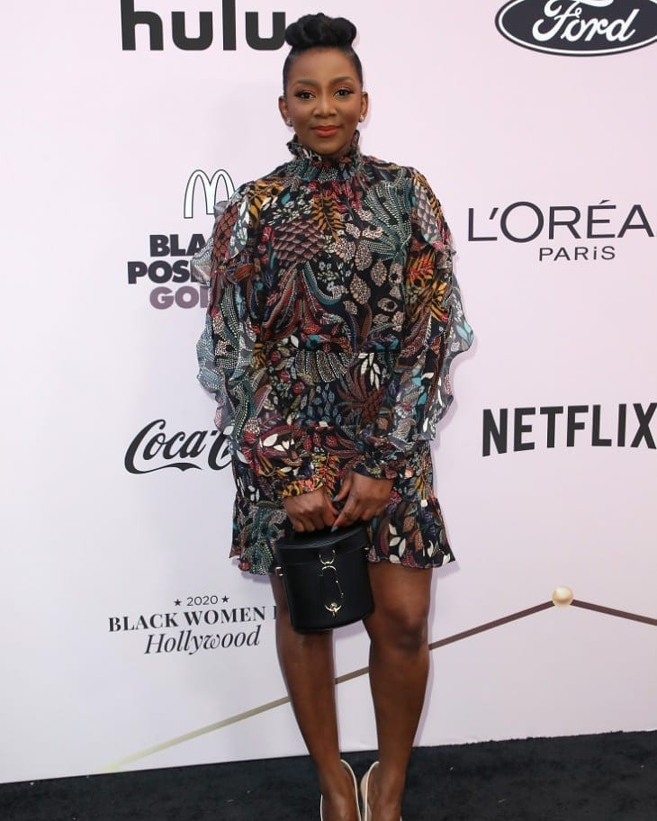 Genevieve Nnaji steps out in style for the 2020 Essence Black Women in Hollywood Awards luncheon