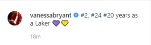 Vanessa Bryant announces Gigi and Kobe Bryant
