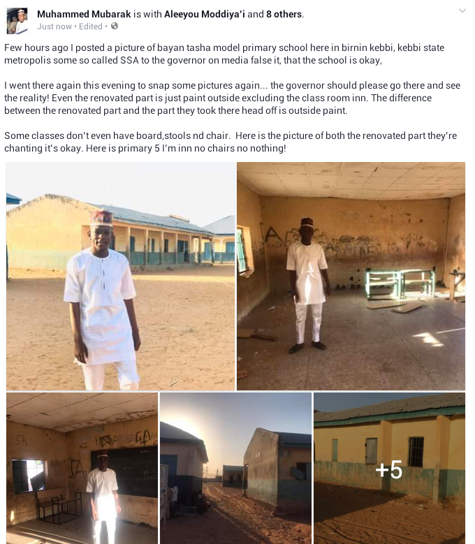 Pathetic state of a primary school in Kebbi where pupils sit on bare floor (photos)