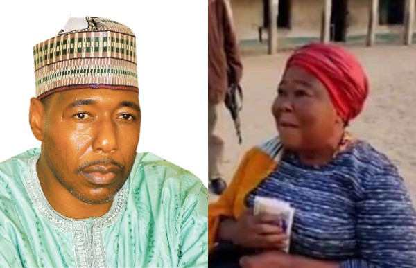 Governor Zulum gifts the only teacher he met in a public school during an unscheduled visit N100k, promotes her (video)