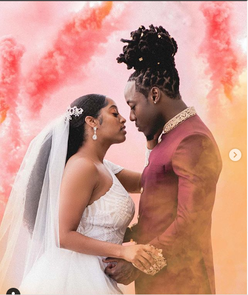 Rapper, Ace Hood?and his longtime partner?Shelah Marie are officially married (photos)