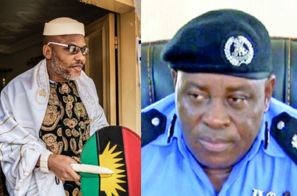 Nnamdi Kanu threatens to hunt down the children of Abia Police Commissioner, Ene Okon