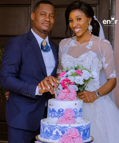 Couple trend after they held their wedding in Lagos without having a reception