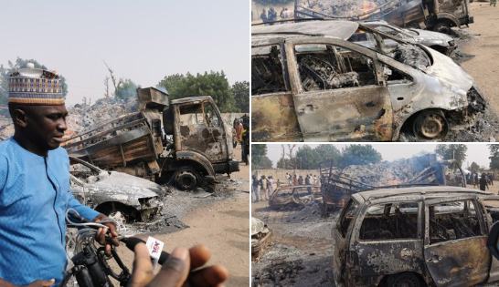 Suspected Boko Haram members kill 9 travelers, allegedly abduct many others in Borno