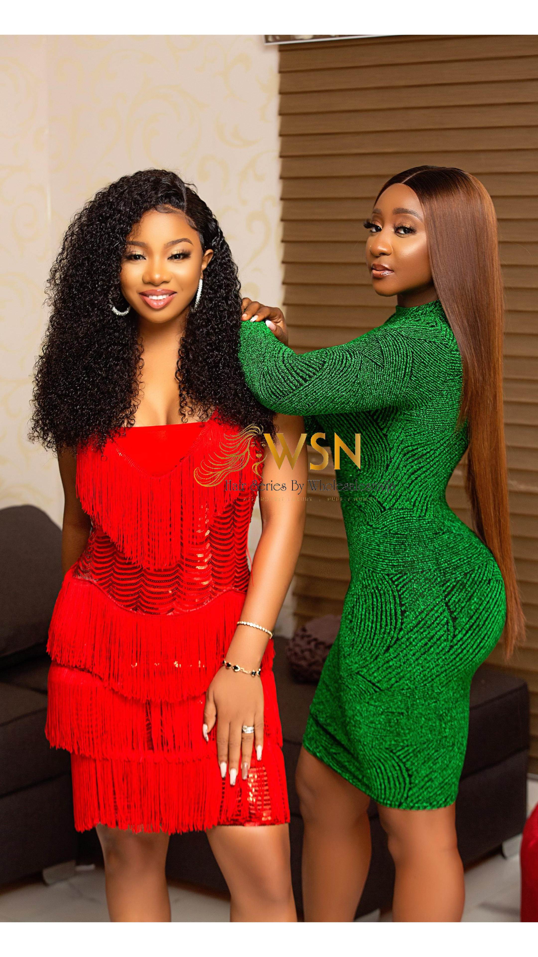 Nigeria?s No 1 Weaves and Wigs Brand, Wholesalesnaija Signs Ini Edo and Mocheddah as Brand Ambassadors