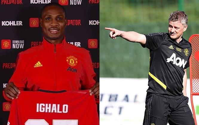 Manchester United coach Ole Gunnar Solskjaer confirms Odion Ighalo