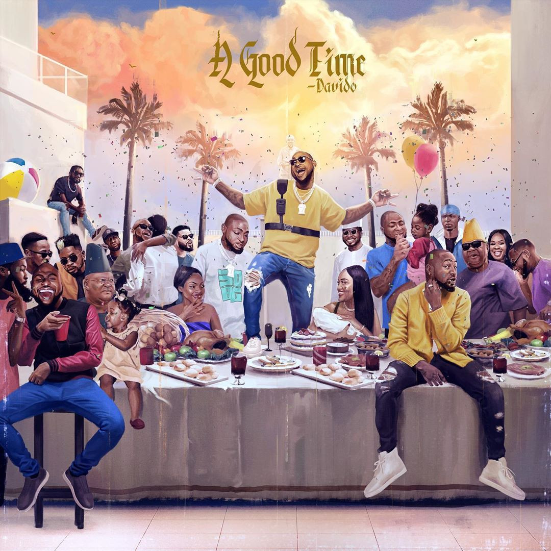 Davido?s sophomore album ?A Good Time? album goes platinum (Photo/video)