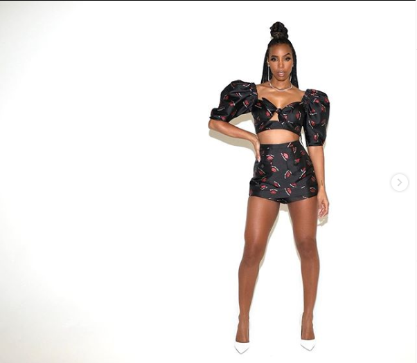Singer Kelly Rowland releases stunning new photos to celebrates her 39th birthday today