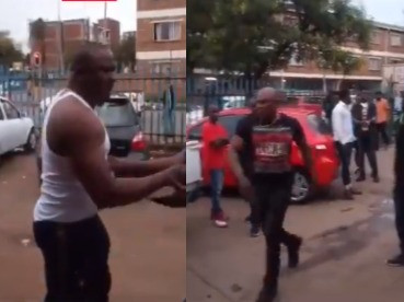 Nigerian man allegedly kills his relative during a brawl in South Africa over failed business transaction (video)