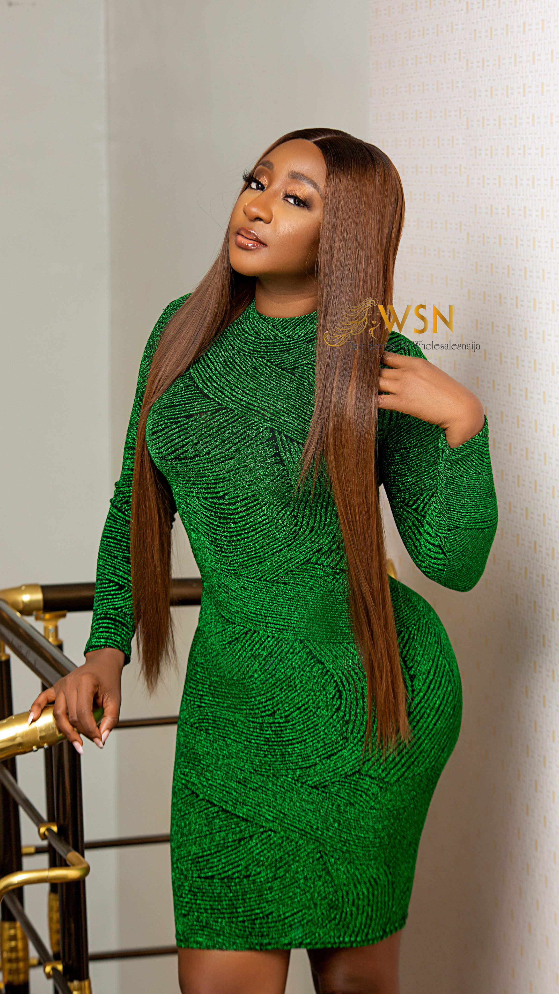 Wholesalesnaija Hair Brand Ambassadors Rocking Different Weaves and Wigs  Pieces from The Brand (photos)