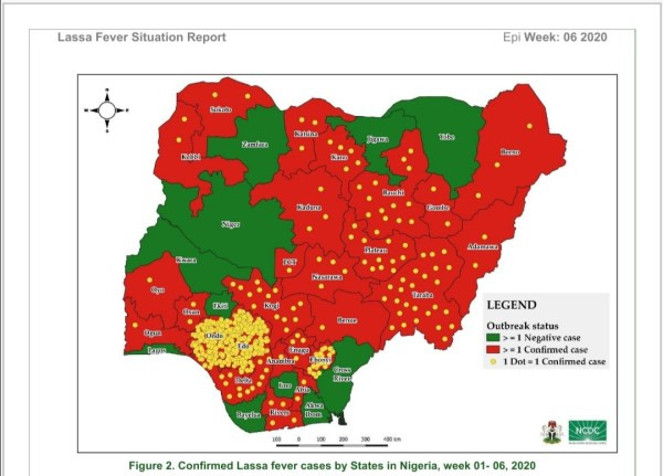 Lassa fever death toll rises to 70 in Nigeria