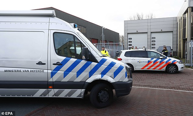 Two letter bombs explode in Dutch postal offices