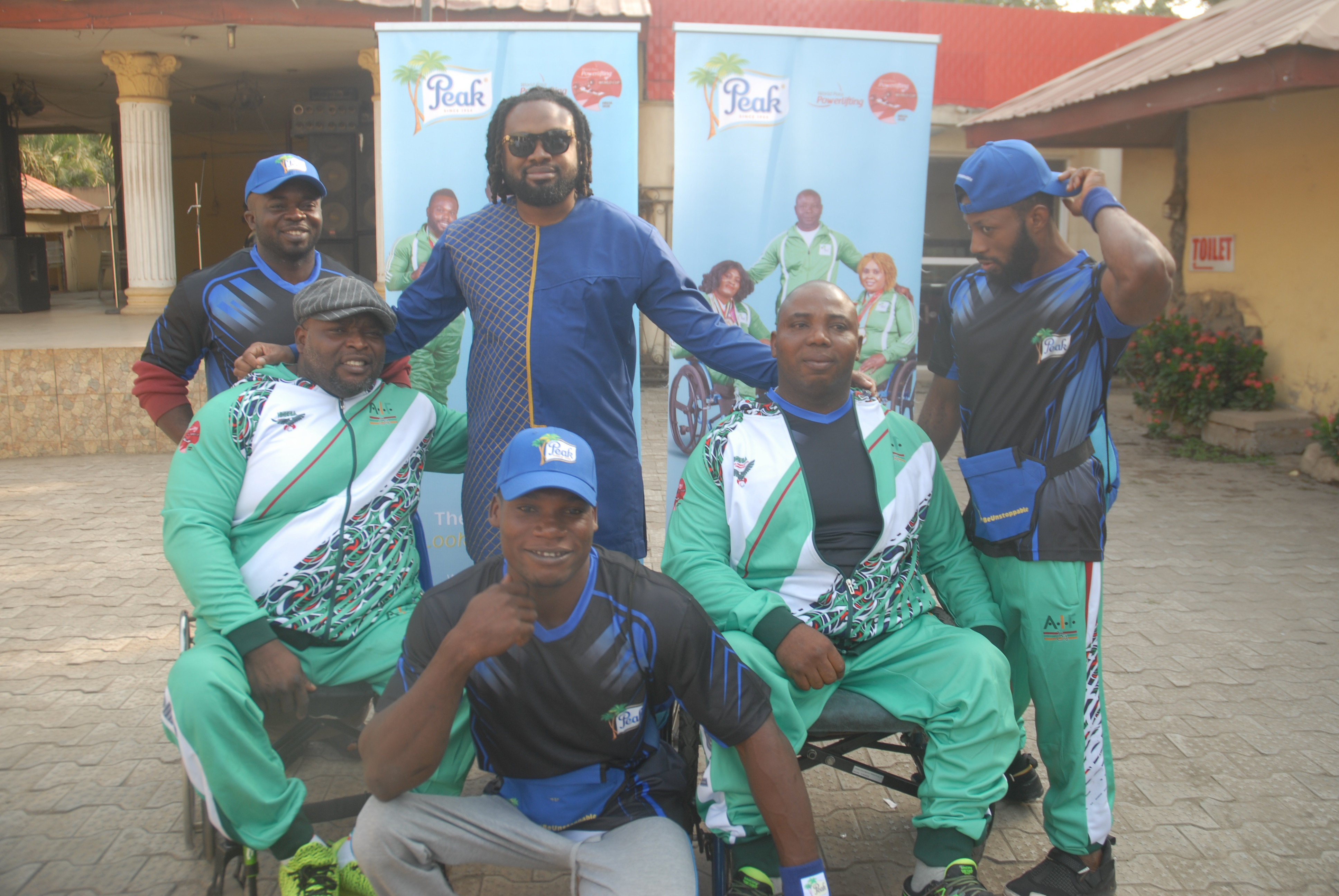 Peak Milk?s Unstoppable Para-powerlifters top the gold winners at Abuja World Cup