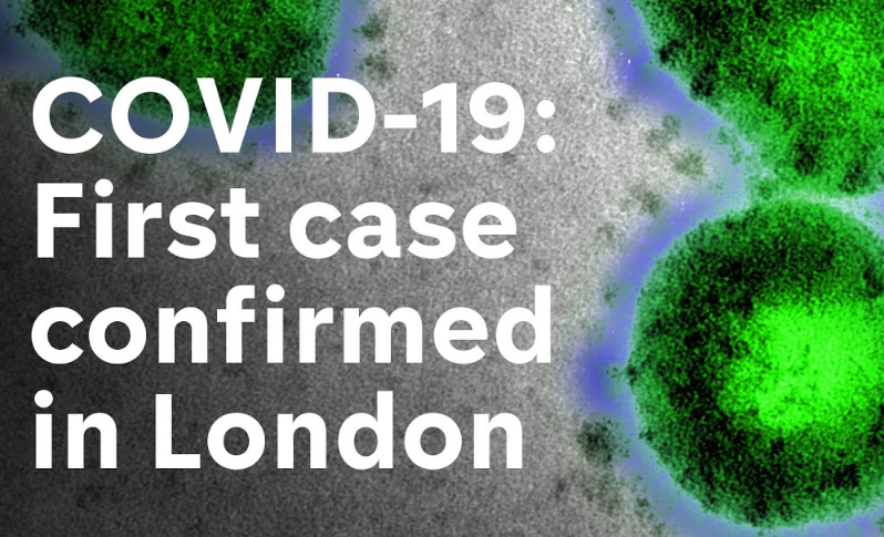 First case of Coronavirus in London confirmed
