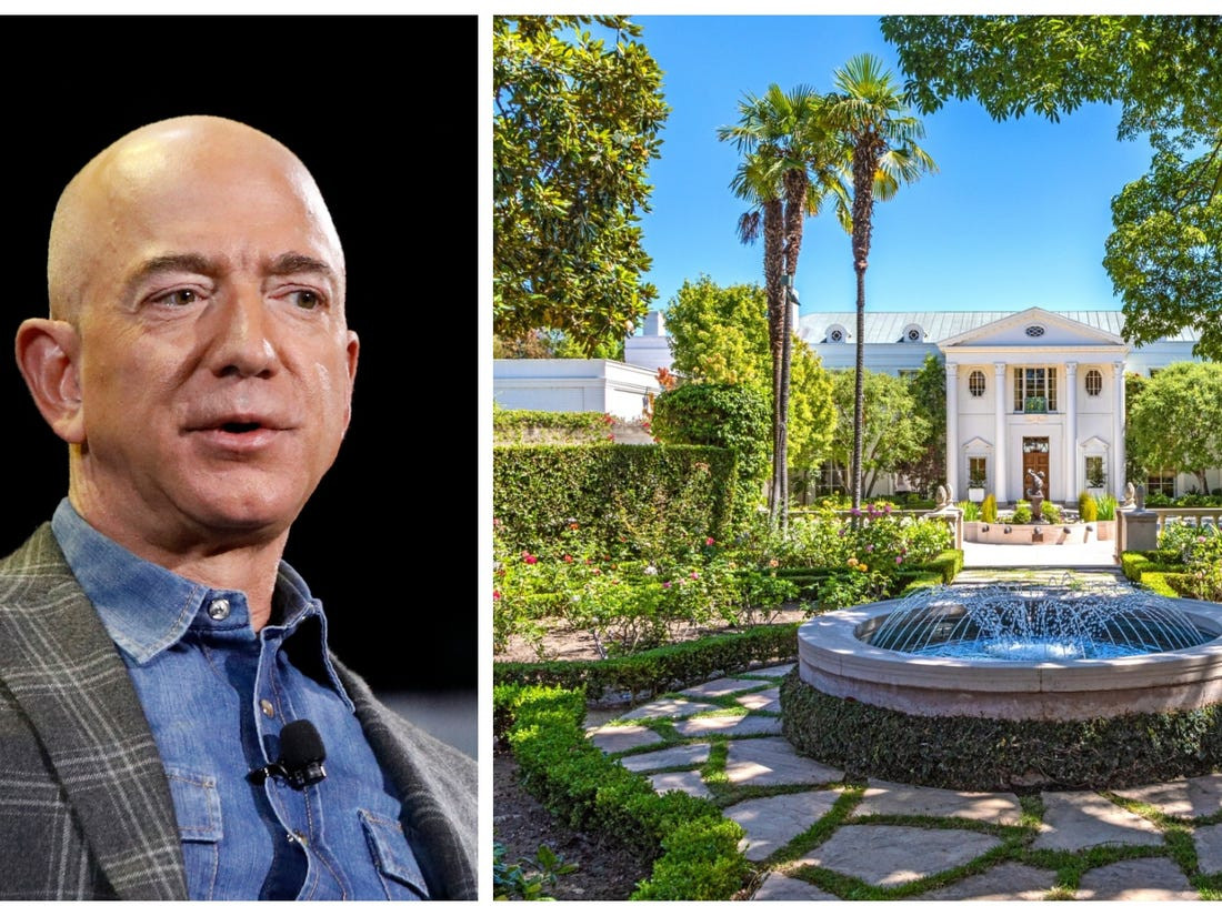 Billionaire Jeff Bezos buys historic Beverly Hills Estate for record $165 Million