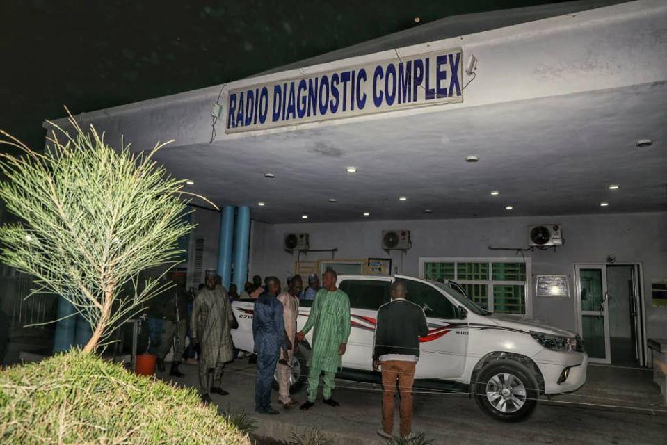 Photos: Borno state governor visits victims of fresh Boko Haram attack