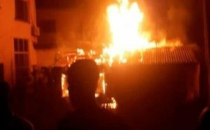 Fire outbreak at Mile 12 market Lagos