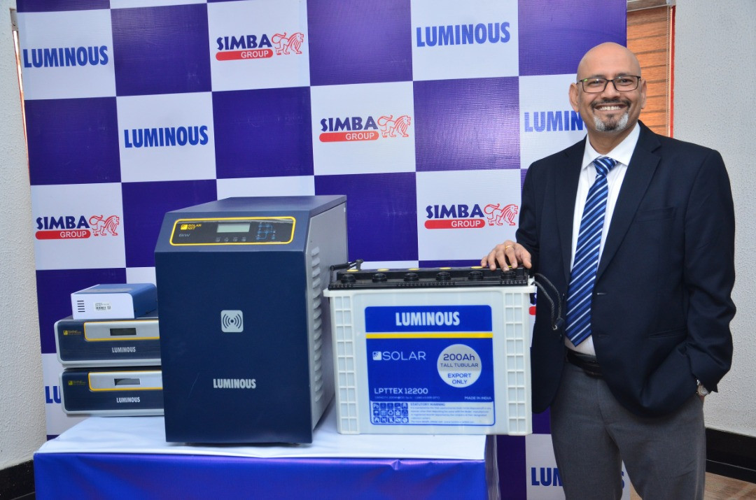 Luminous introduces innovative Solar Tall Tubular Batteries; offers industry-leading 24 months warranty