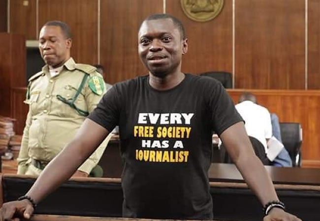 Court grants journalist, Agba Jalingo, N10m bail