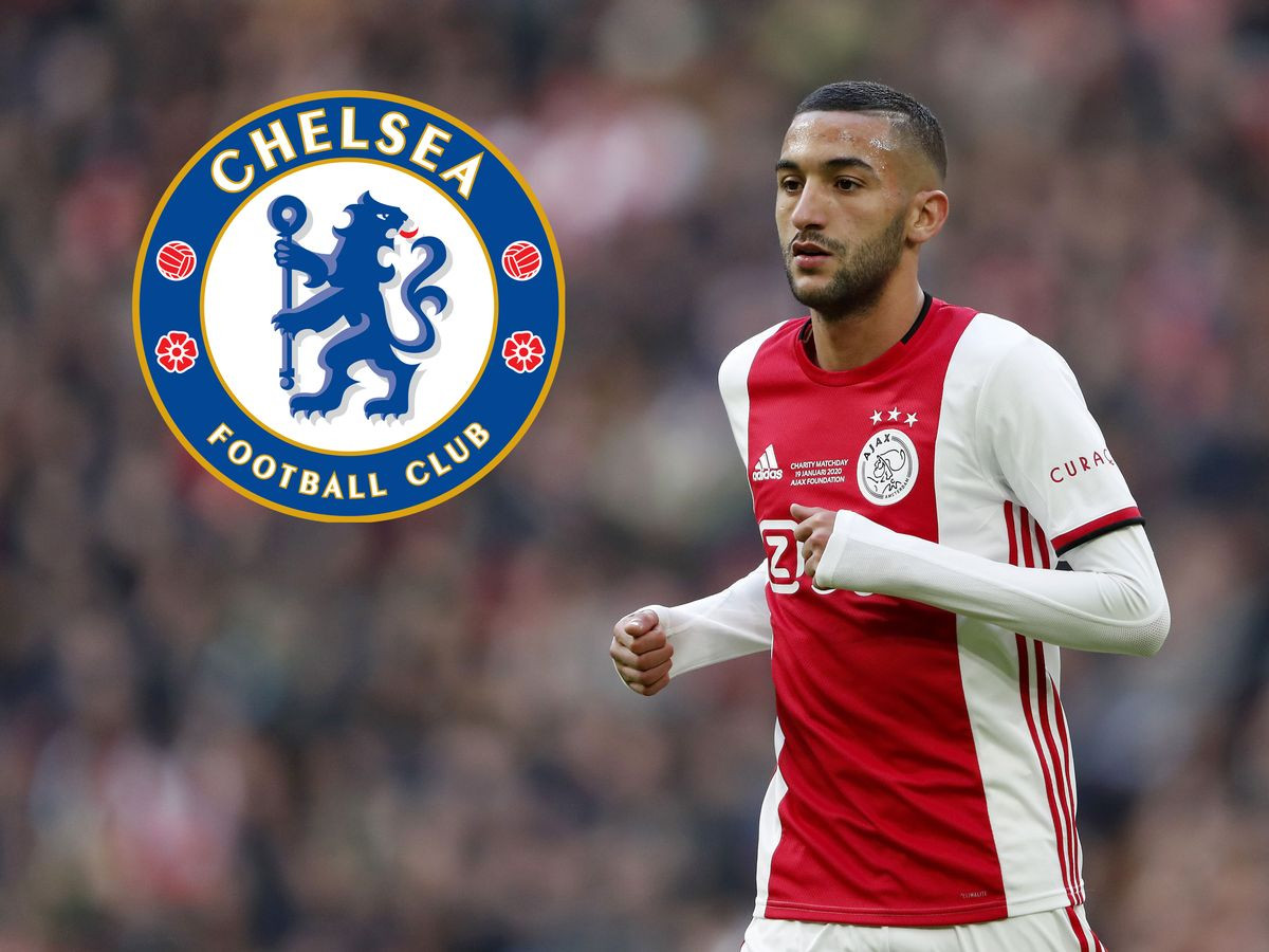 Chelsea to sign Moroccan winger?Hakim Ziyech from Ajax in ?33.3m deal