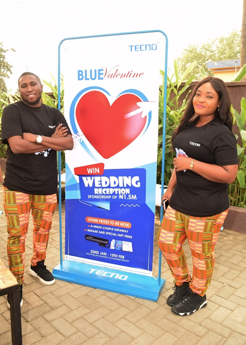 TECNO to sponsor a couple?s wedding reception to the tune of N1.5M Naira
