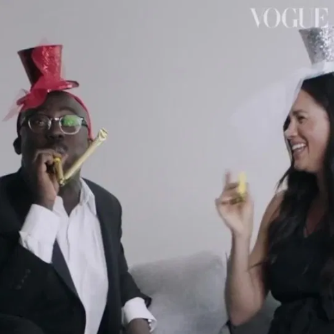 Meghan Markle releases unseen behind-the-scenes footage of her time as guest editor of British Vogue