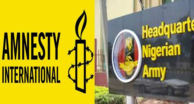Amnesty International is working for Boko Haram and  ISWAP - Defence Headquarters