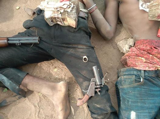Police gun down three armed robbery suspects in Anambra, arrest two others  (graphiv photos)
