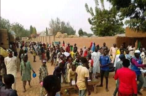 Two boys contest in an election over a girl they both fell in love with in Bauchi (photos)