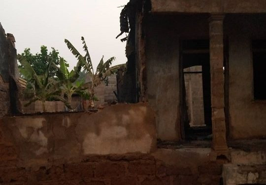Three siblings between the ages of two months and five years old burnt to death in Anambra