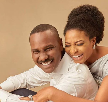 Thank you for being my peace'' - Ibidun Ighodalo, and her hubby ...