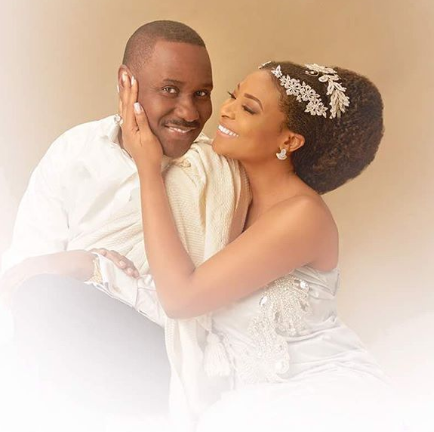 ''Thank you for being my peace'' - Ibidun Ighodalo, and her hubby, Ituah, celebrate 13th wedding anniversary 2