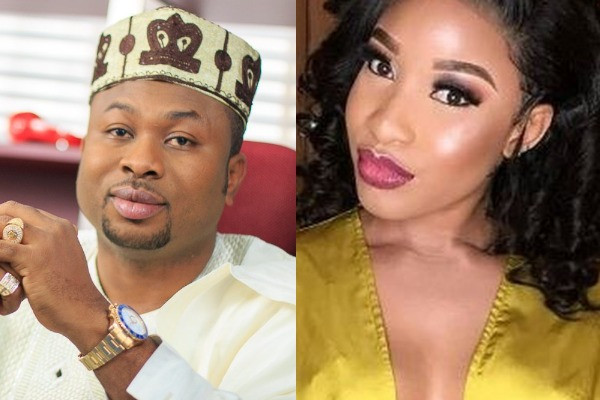 Churchill sues ex-wife Tonto Dikeh, demands N500 million