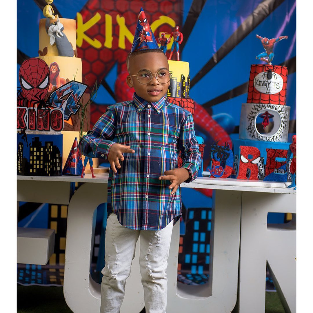You practically are my Life/ My World/ My Joy- Tonto Dikeh celebrates her son as he turns 4 today