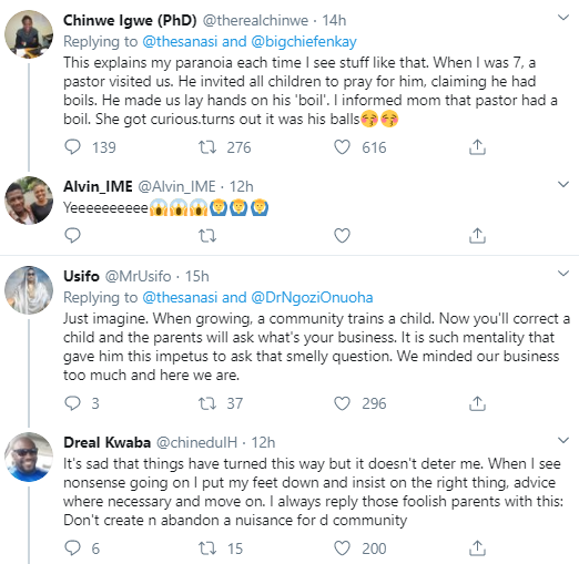 Woman narrates her encounter with a man she saw holding the waist of a 7-year-old girl