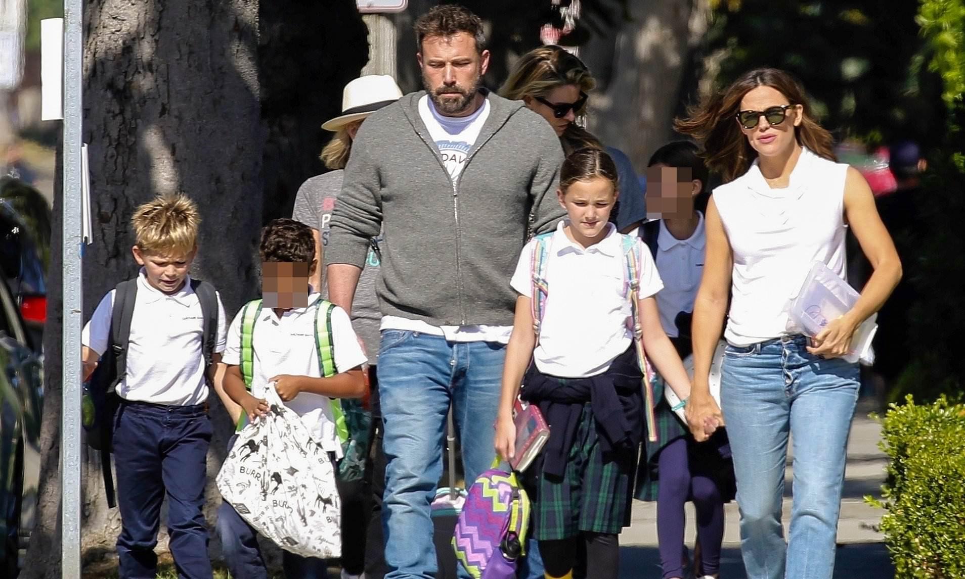 Actor Ben Affleck calls Jennifer Garner divorce