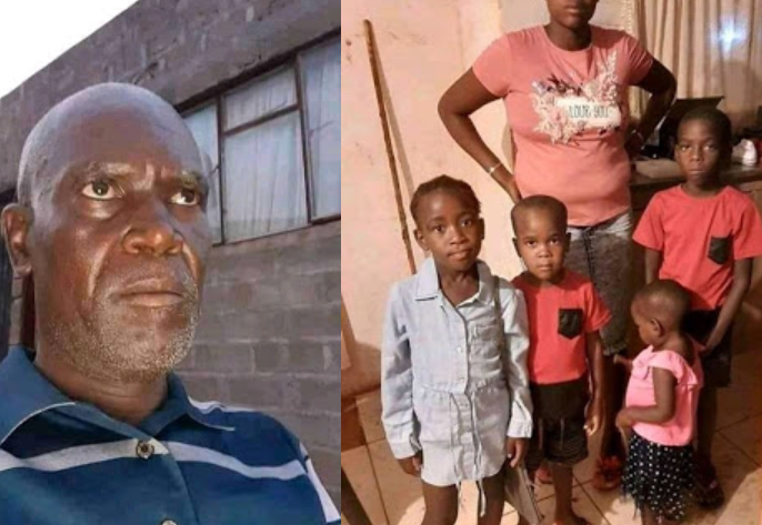 Image result for 50-year-old Man stabs his four children to death in South Africa after accusing their mother of cheating and infecting him with HIV (photos)