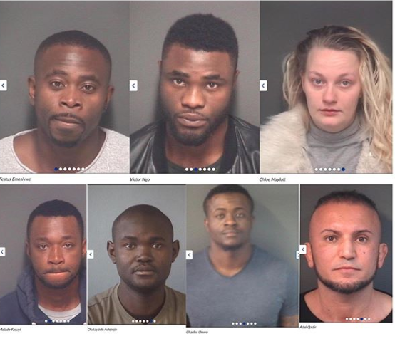Nigerians and their gang members jailed in UK for ?358k complex phone and email fraud