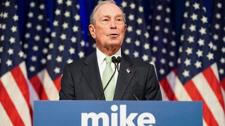 Mike Bloomberg announces he