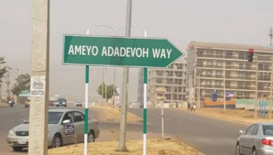Major road in Abuja named after late Dr Stella Ameyo Adadevoh