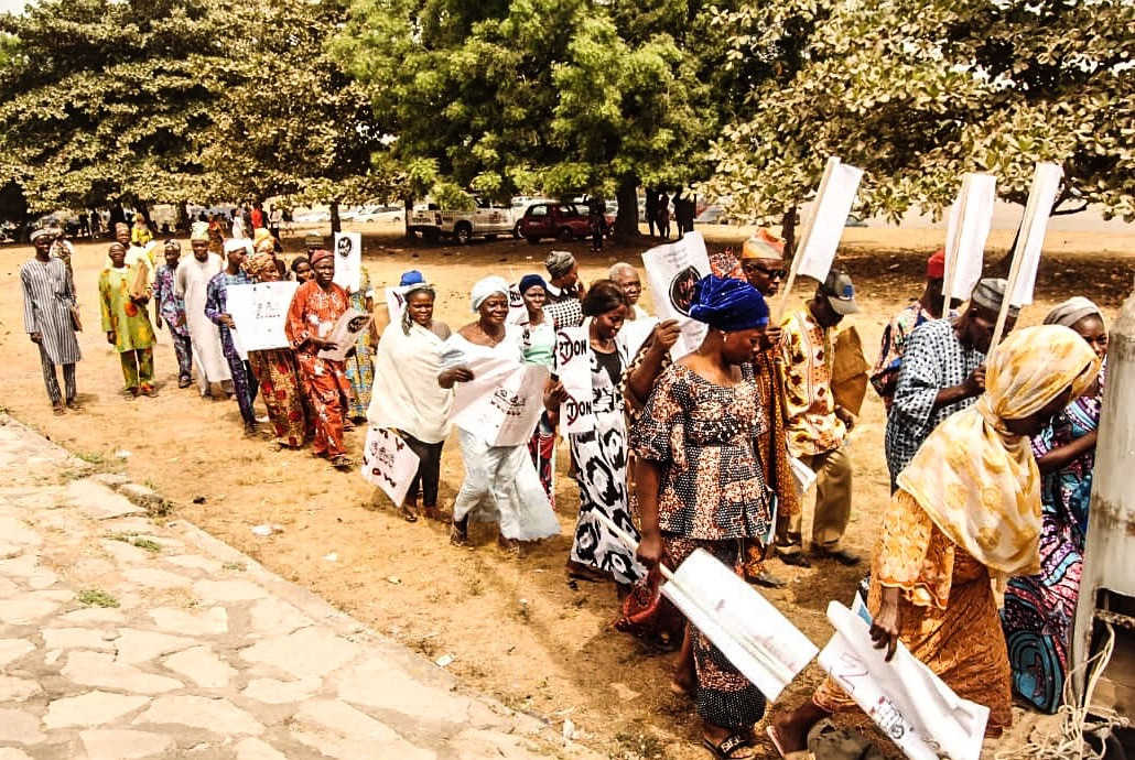 Activist Aduke Ajibola writes open letter to the governor of Ogun State Dr. Dapo Abiodun MFR after gathering elderly victims of house demolition outside the governor