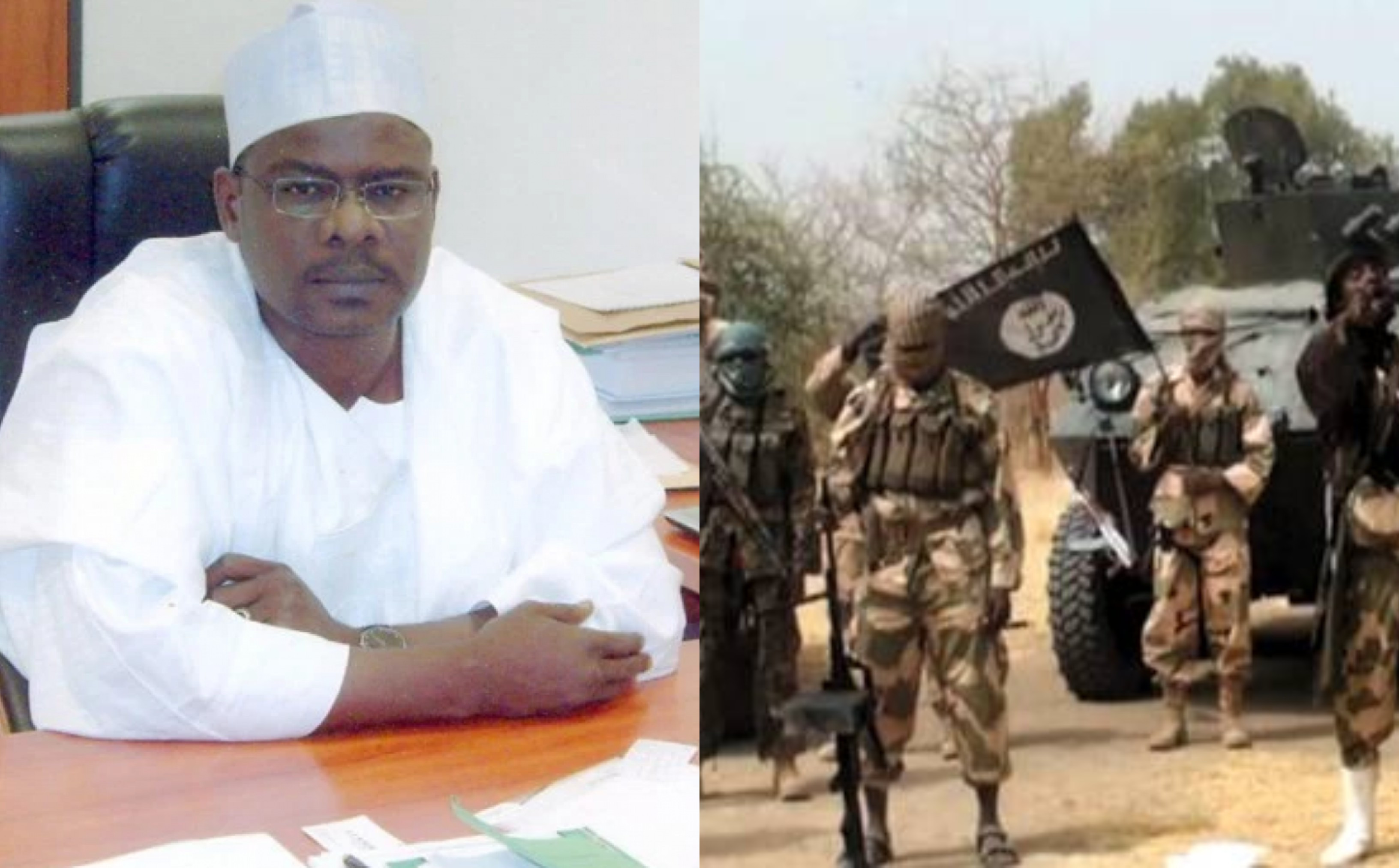 Creating an agency for Boko Haram is like telling people to join the group and repent - Senator Ndume kicks against Boko Haram bill (video)