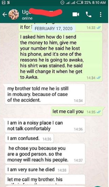 Nigerian man shares shocking story of how he ran into a friend who he never knew had died