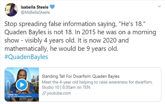 Quaden Bayles