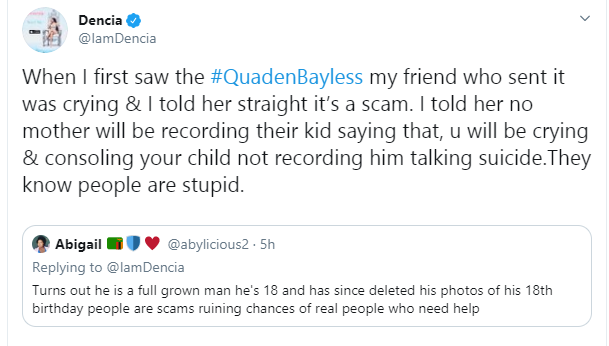 9-year-old dwarf, Quaden Bayles is being used by his mum to make money - Dencia