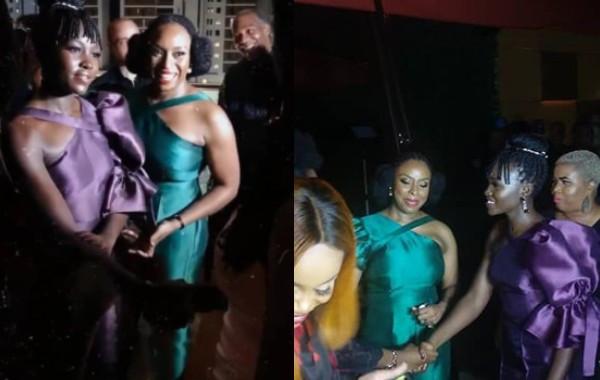 Chimamanda Adichie hosts Lupita Nyong