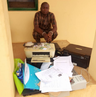 33-year-old man arrested over forgery of Lagos state documents