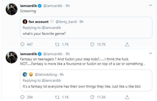It made me cringe - Cardi B reacts to use of cartoon character, Elsa for porn